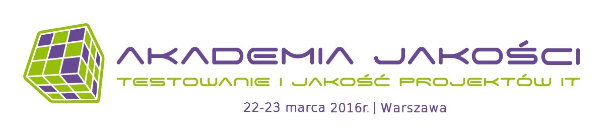 Konferencja: Akademia Jakości – testowanie i jakość projektów IT