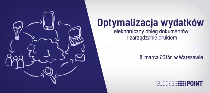 Optymalizacja wydatków - elektroniczny obieg dokumentów i zarządzanie drukiem